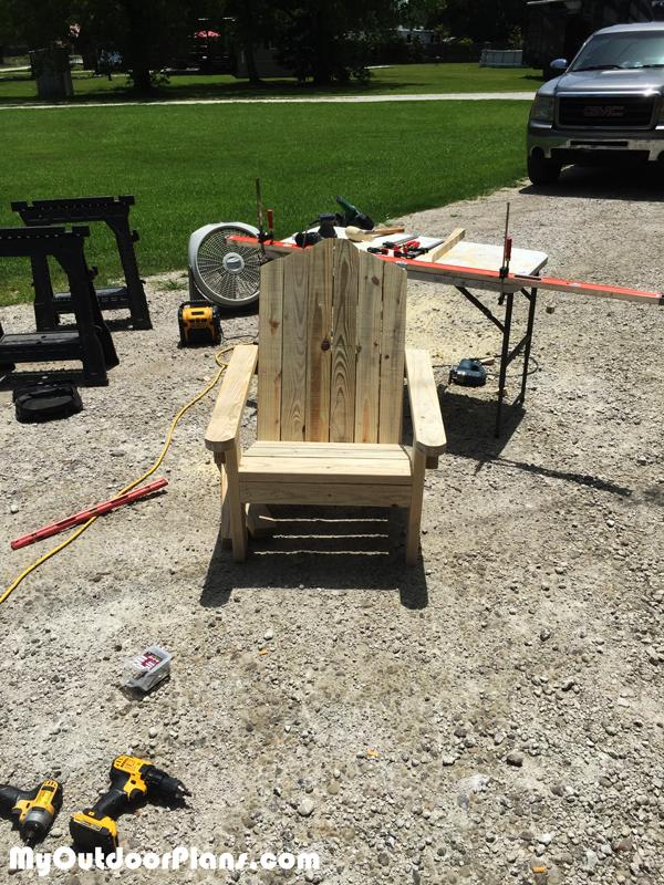 2x4 Adirondack Chair DIY Project Diy chair, Adirondack