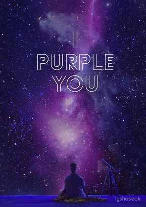 BTS I PURPLE YOU Spiral Notebook