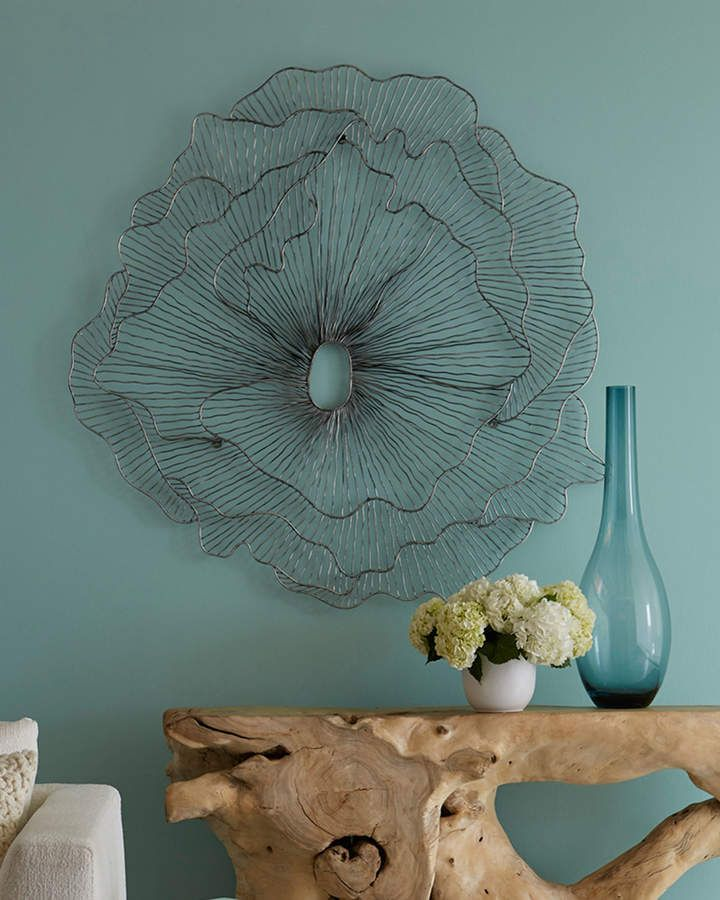 The Phillips Collection Flower Wall Art Flower Wall Decor Wire Wall Art Flower Wall Art