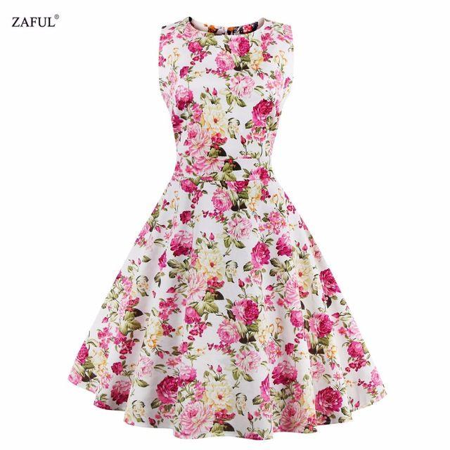 Vestido de las mujeres Del Verano 2016 Más El Tamaño Estilo de ...