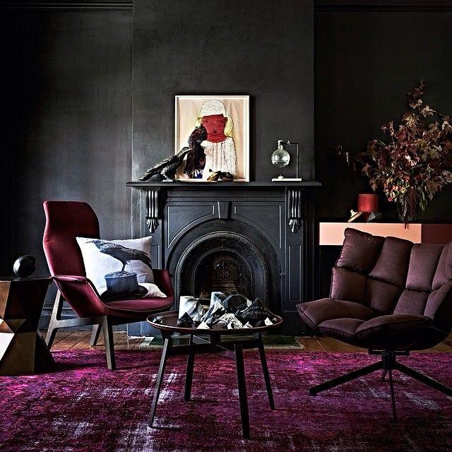 A Dark Cozy Moody Masculine Bedroom Lots Of Wood Dark: Http://decdesignecasa.blogspot.it