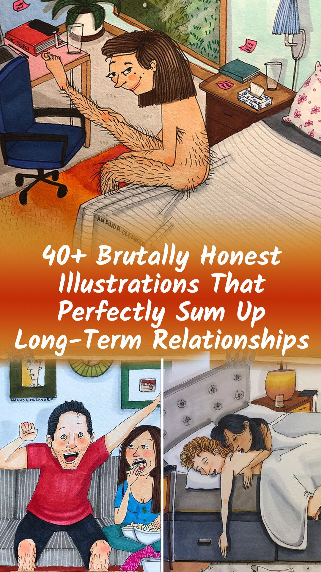 40+ Illustrations That Reveal The Honest Side Of Relationships
