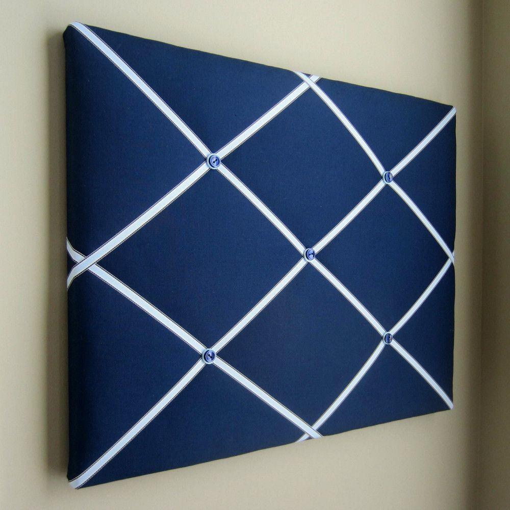 16 X20 Memory Board Or Bow Holder Navy Blue Light Blue Memory