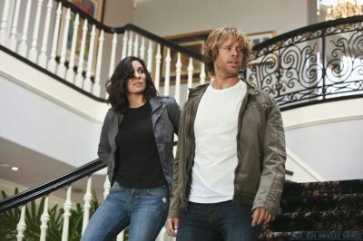 Kensi & Deeks in Beacon.
