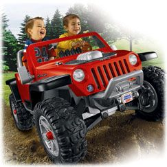 Power Wheels Jeep Hurricane With Monster Traction Power
