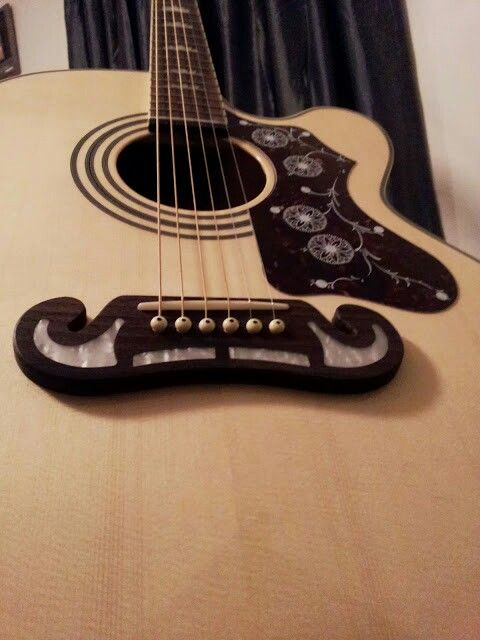 Guitar With Mustache Guitar Acoustic Instruments
