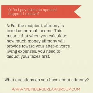 3 Hidden Costs Of Alimony Divorce What If Questions This Or