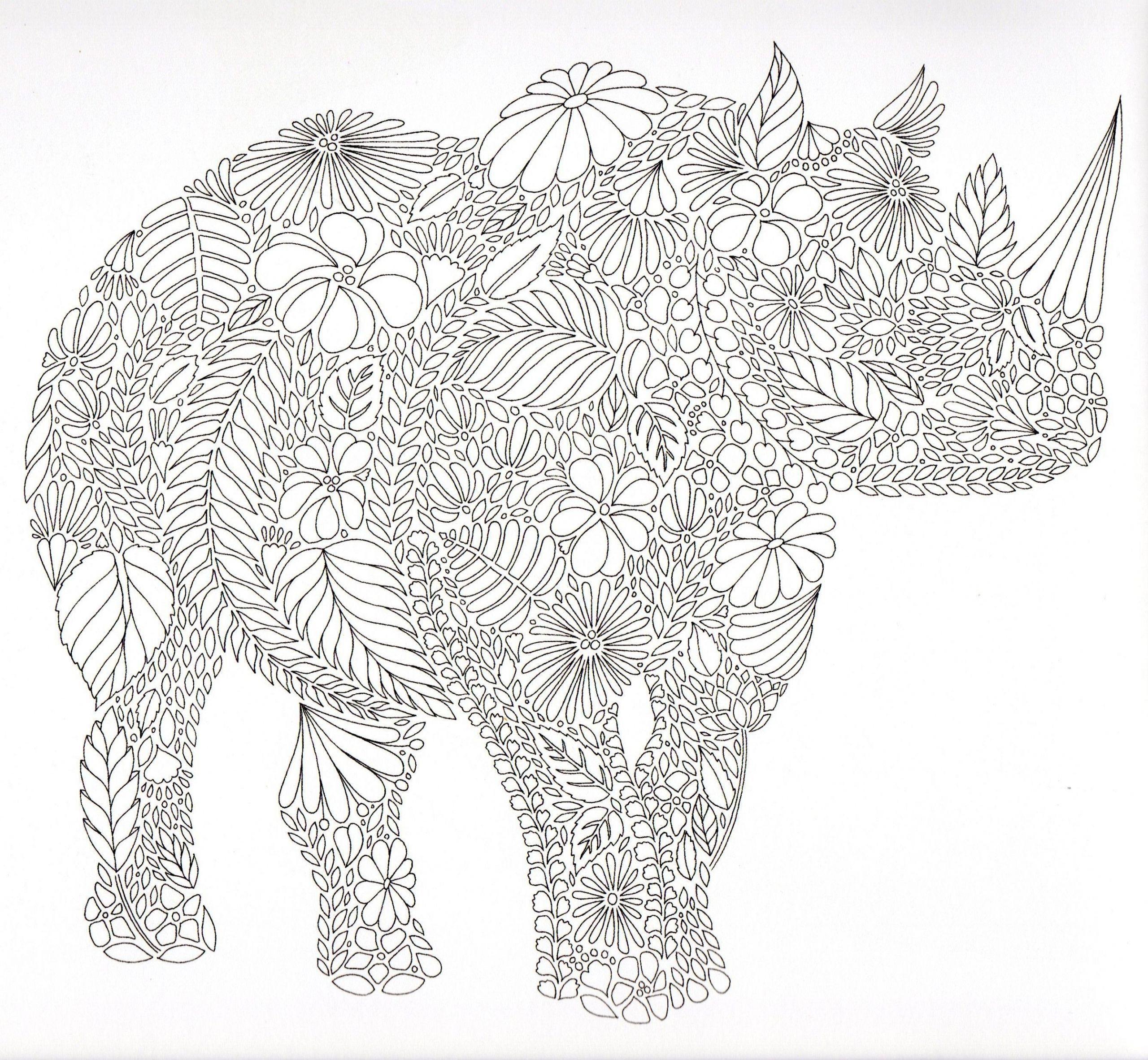Die Besten Von Erwachsenen Mandala Kostenlos Animal Coloring Pages Elephant Coloring Page Coloring Books