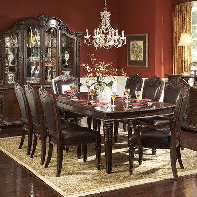 Woodbridge Home Designs Palace 9 Piece Dining Set Reviews Wayfair