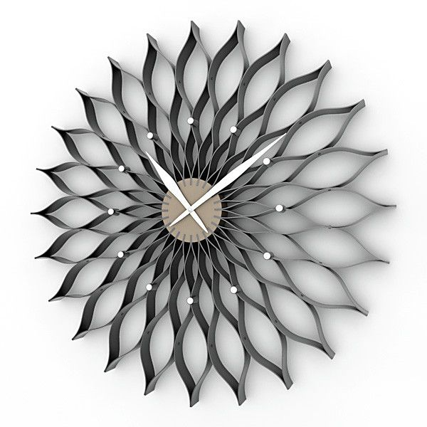 3d analog decorative wall clock model - Decorative Wall Clock 01 ...