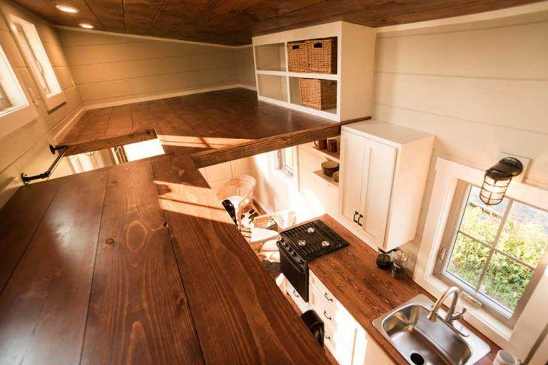 Boxcar by Timbercraft Tiny Homes #tinyhousebathroom