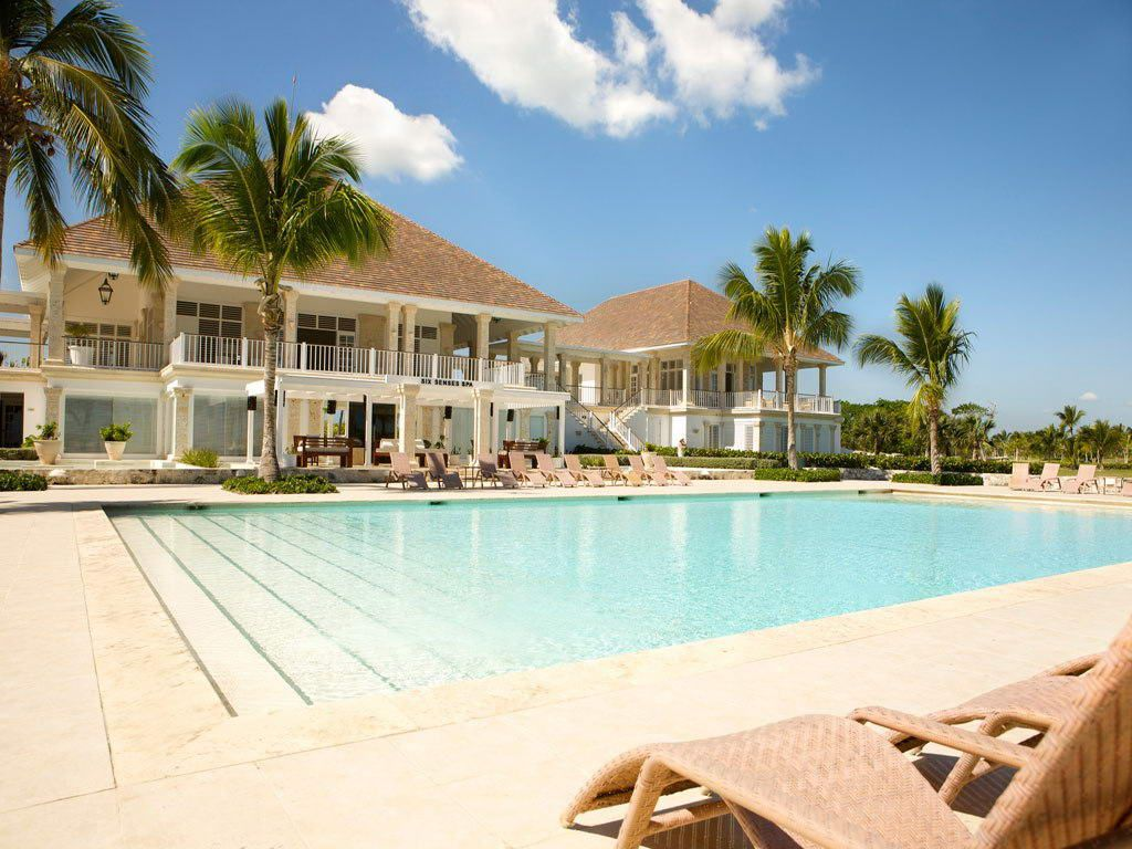 La Cana Golf Beach Club In Dominican Republic After A Challenging Round You Can Retire To The Hole Terrace Part Of The Gorgeous La Cana Golf And Beach