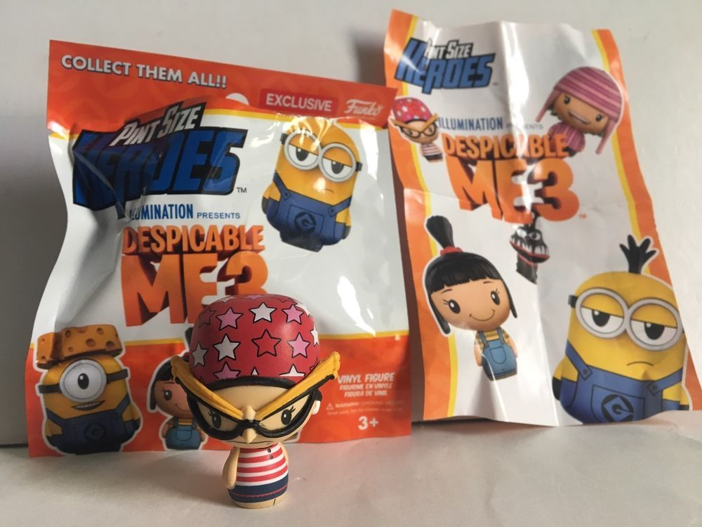 Despicable Me 3 Movie Pint Size Heroes EDITH Vinyl Figurine New