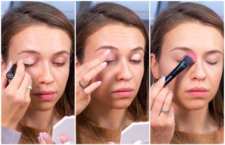 Die mutige aber zurückhaltende Mauve #Rosa ist perfekt für einen    #makeup – …