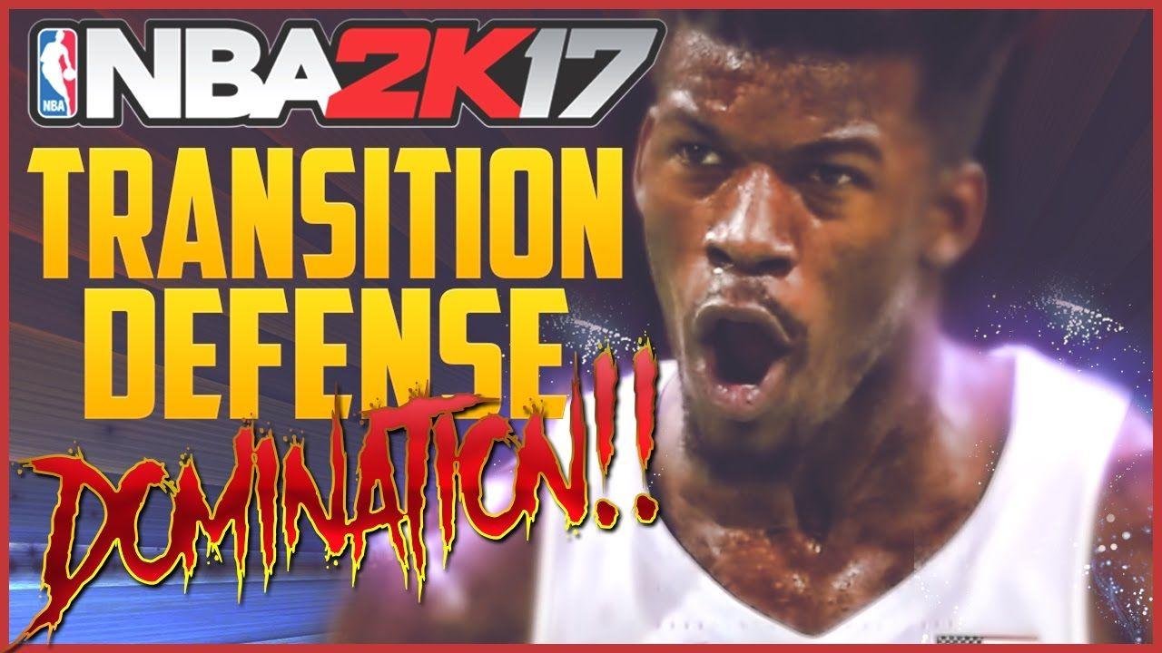 NBA 2K17 Transition Defense Domination! How to Play Lockup Transition Defense