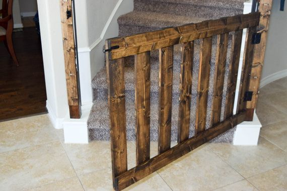 Rustic Baby Gates For Stairs