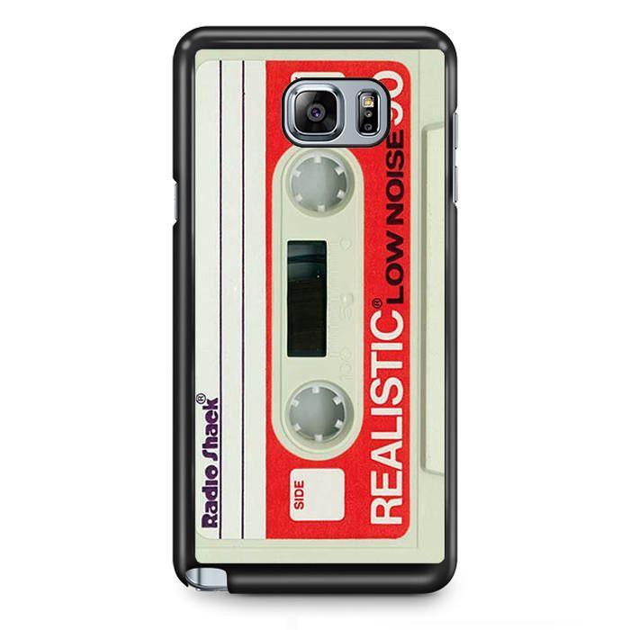 Casette White TATUM-2434 Samsung Phonecase Cover Samsung Galaxy Note 2 Note 3 Note 4 Note 5 Note Edge