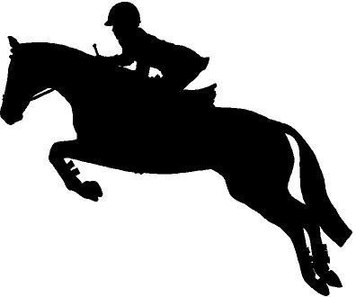 Jumping Horse Silhouette Clip Art - Tips Cara Merawat ...