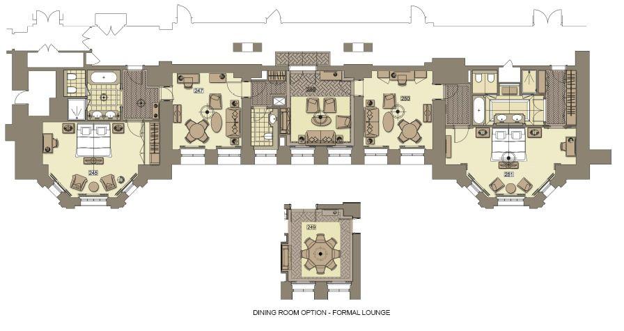 The Regent Suite At The Langham London Hotel Suite Floor Plan Luxurious Bedrooms Luxury Suite