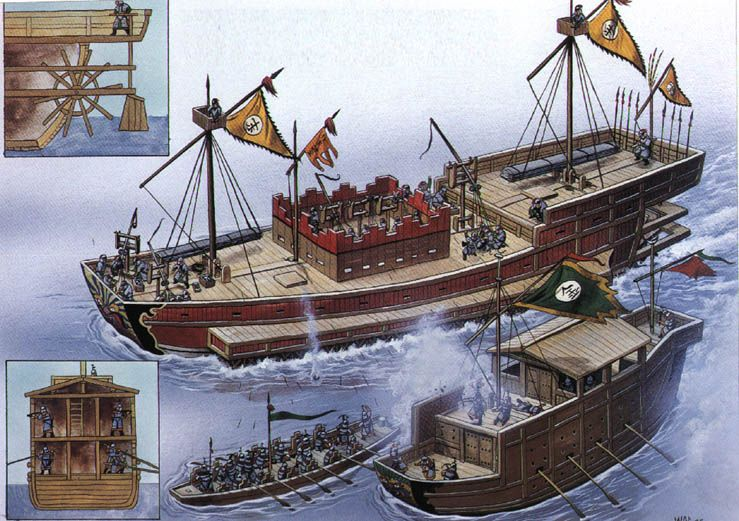 ancient japanese ships | East Asian Ships (Pictures ...