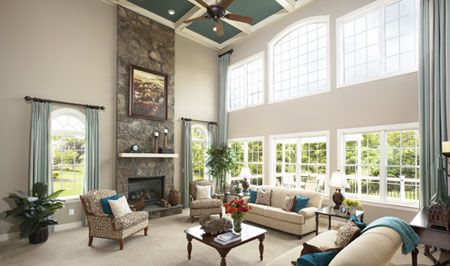 Toll brothers model homes pictures