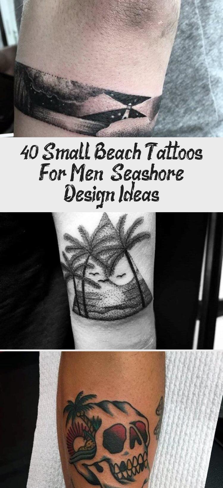 Photo of 40 Small Beach Tattoos For Men – Seashore Design Ideas – Best Tattoos