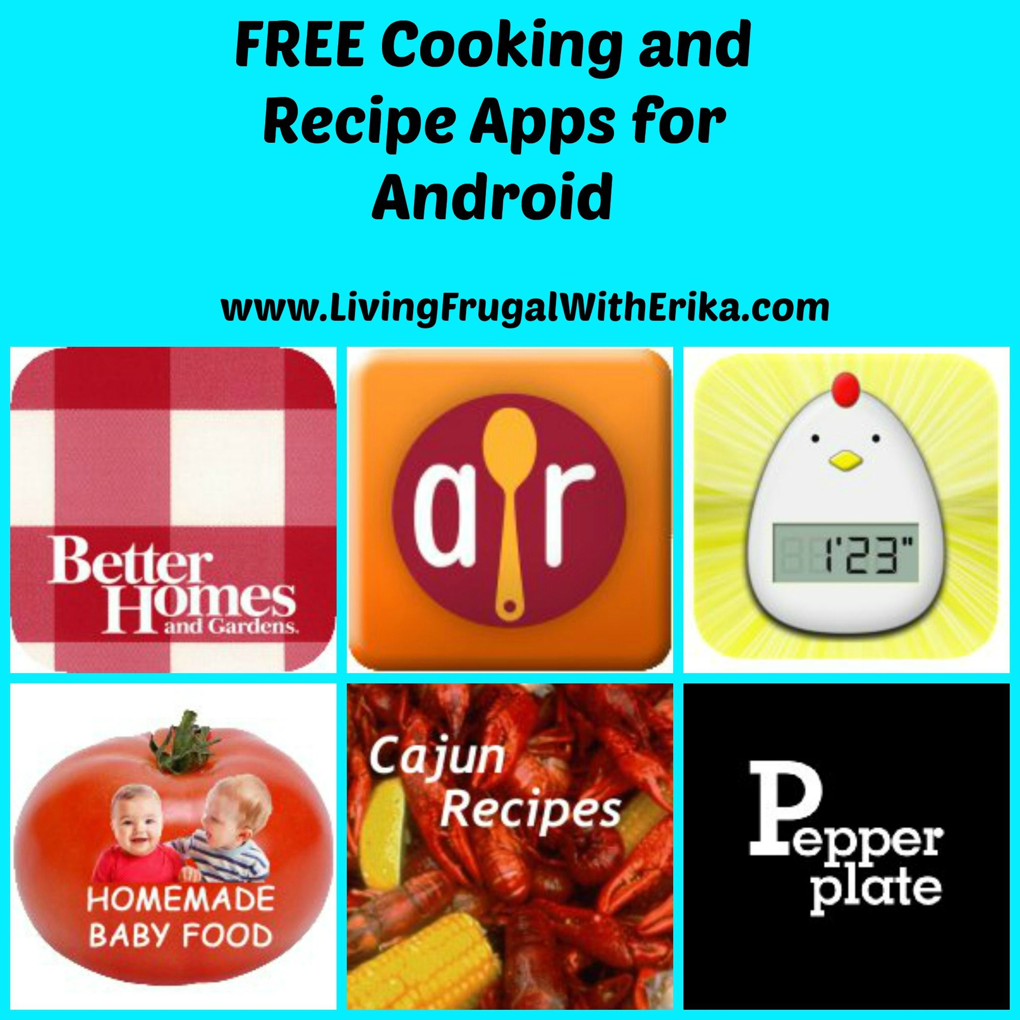 Free cooking and recipe apps for android food app
