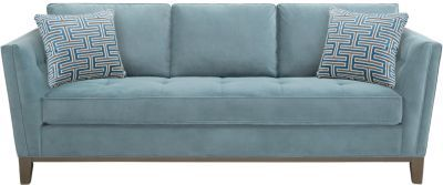 Rooms To Go Cindy Crawford Home Park Boulevard Ocean Sofa Plush Sofa Cindy Crawford Home Sofa
