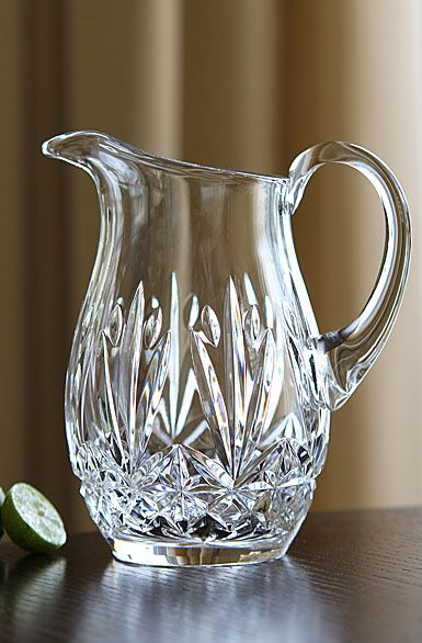Cashs Ireland Annestown Large Crystal Pitcher Crystal Glassware Antiques Crystal Glassware Large Crystals