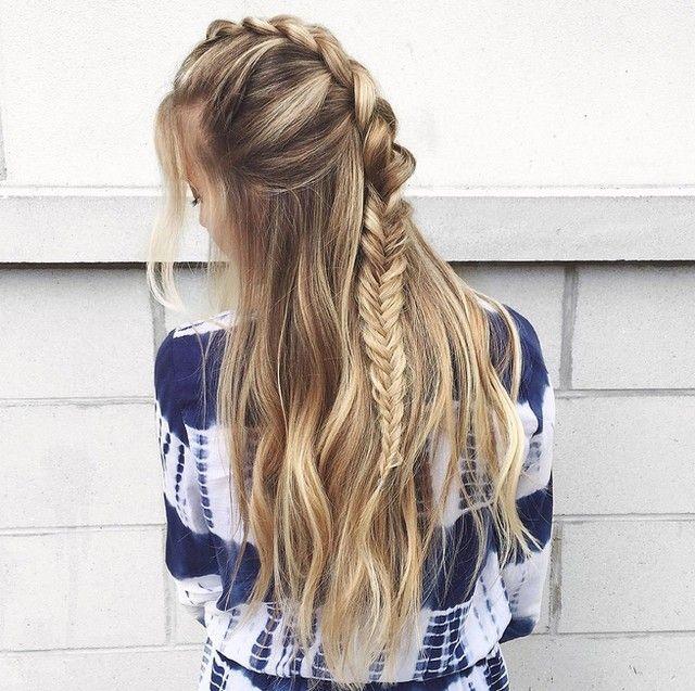 Balayage Vagues Tresse Cette Coiffure Est Parfaite De A A Z Lookdujour Ldj Hair Braid Blonde Hairinspo Hairdo Instahair Hair Styles Hair Dreadlocks