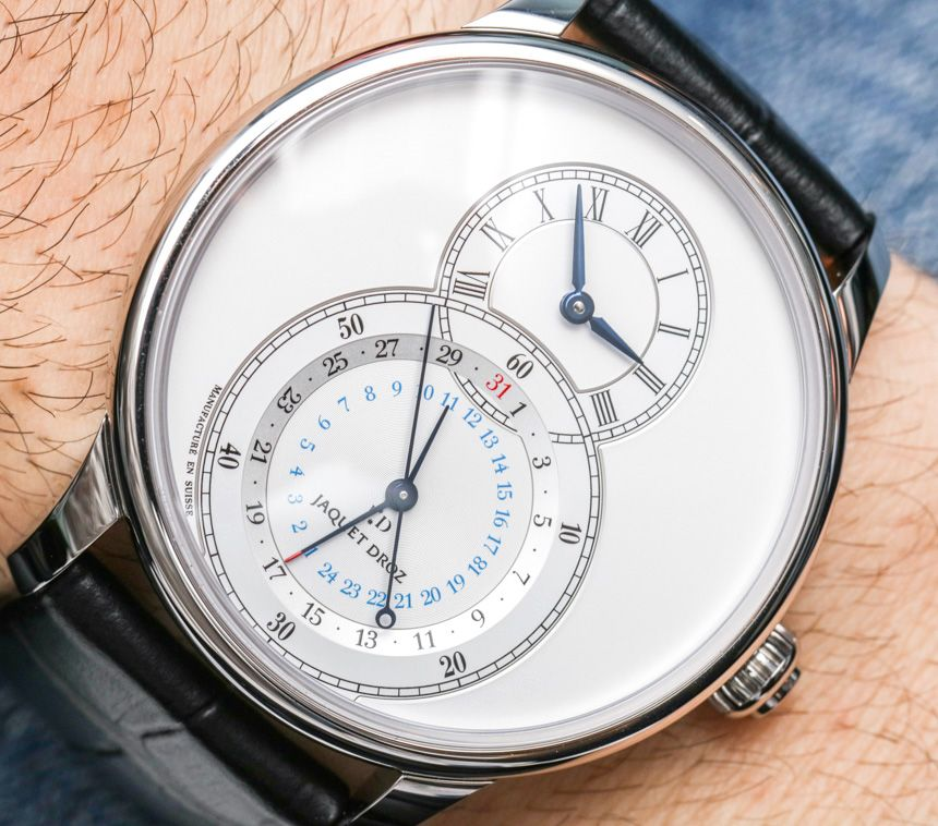 """Jaquet Droz Grande Seconde Dual Time Watch Hands-On - by Ariel Adams Get a closer look at: aBlogtoWatch.com """"With the Jaquet Droz Grande Seconde Dual Time watch, the Swiss watch maker aims to add elegance to the notion of a GMT-style travel watch. Does it work? Let's find out... For about 15 years now, the Jaquet Droz Grande Seconde has been among the more characterful dress watches around and has earned its share of fans and admirers. Aside from a few interesting line extensions such as..."""""""