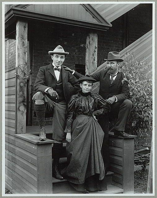 Frances Benjamin Johnston Front With Mills Thompson