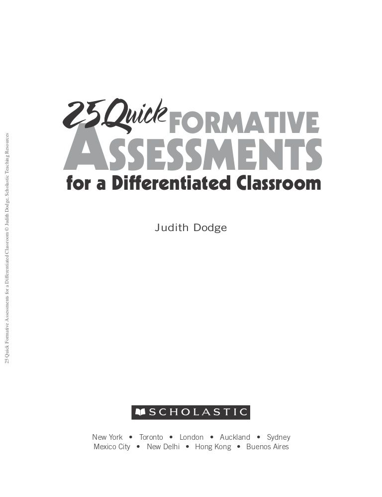 25 quick formative assessments by Roberto Joseph Galvan via - different examples of formative assessment