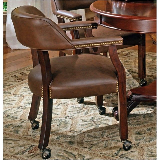 Dining Room Chairs with Rollers