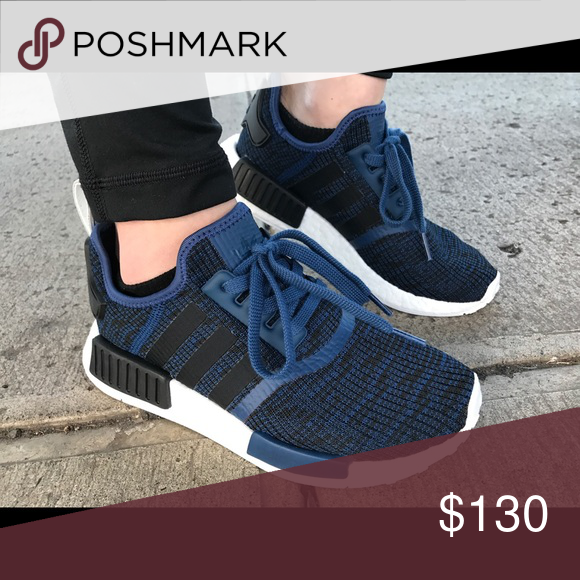 newest 20547 9976b NMD R1 Adidas Blue Mens 5 SOLD OUT MODEL Adidas NMD R1 SHOES Article No   BY2775