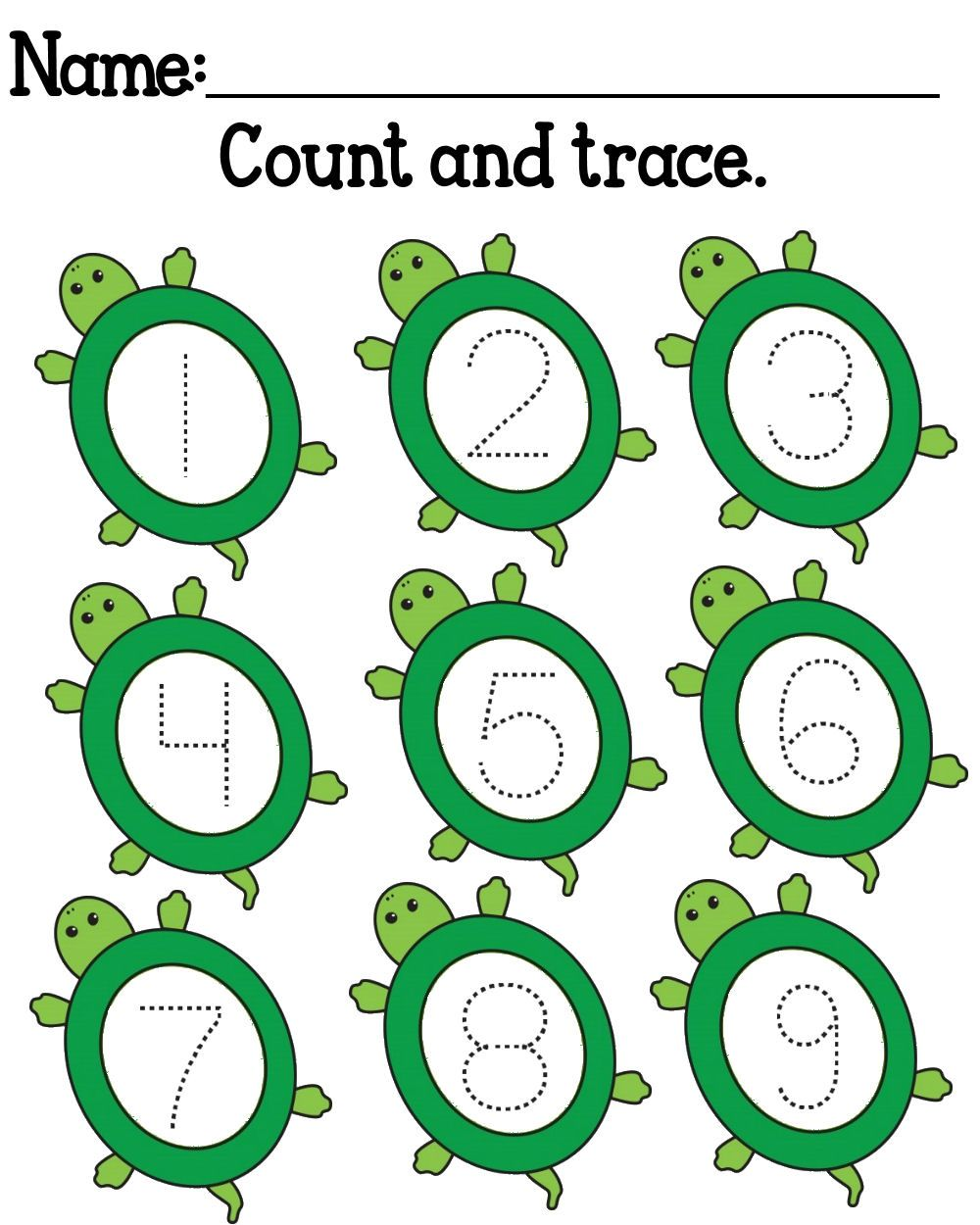 FREE Yertle the Turtle Printables | MySunWillShine.com | Reptile and ...