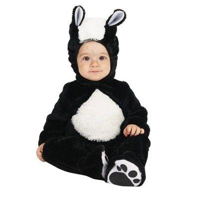 halloween lilu0027 skunk baby costume months infant unisex size m black