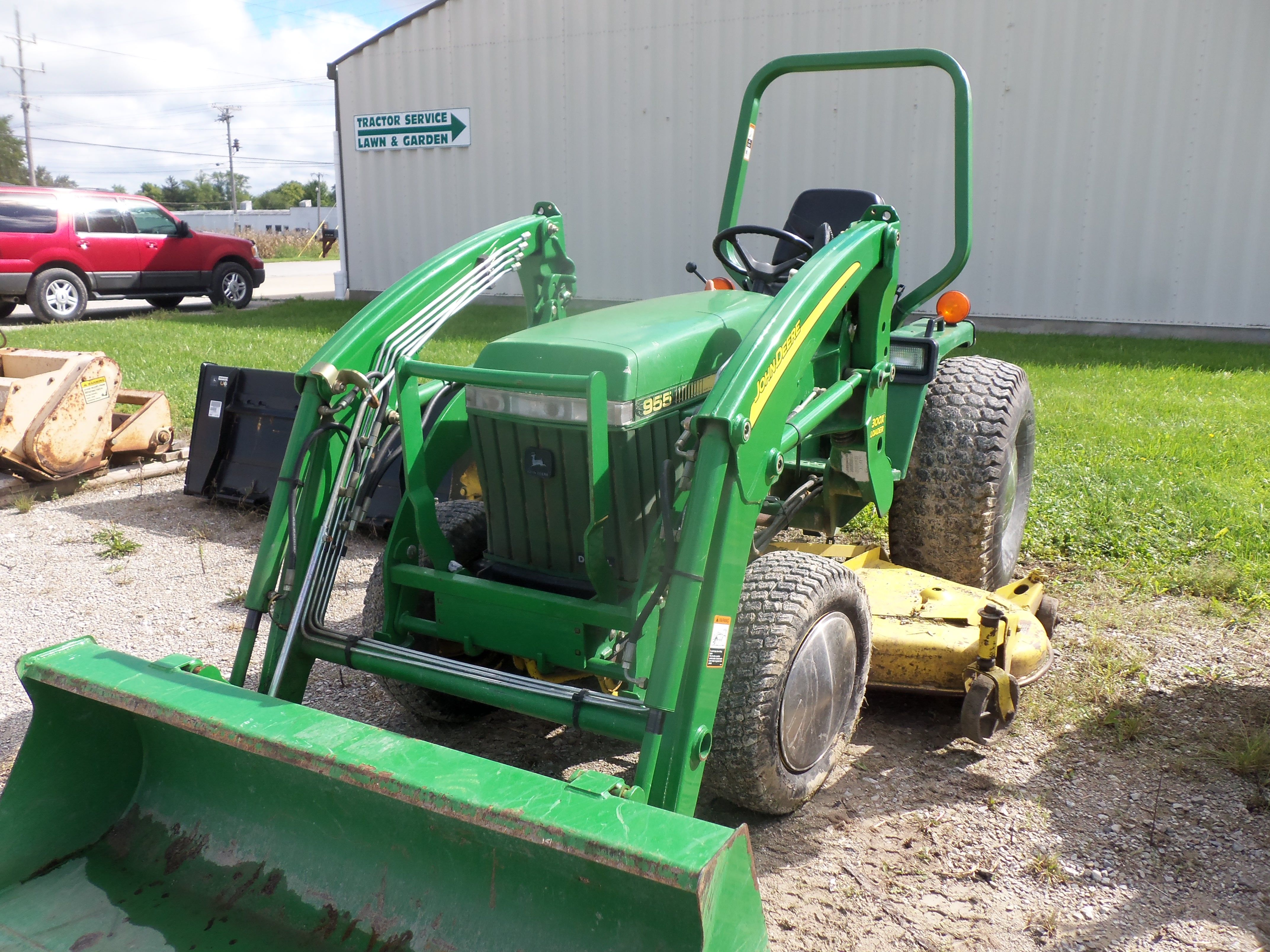 small resolution of john deere 955 with 300cx loader