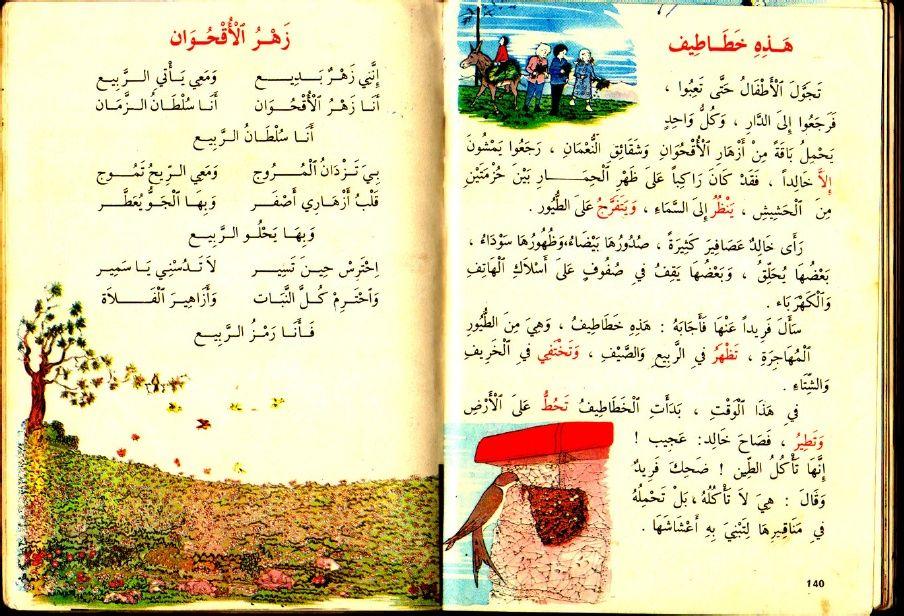 1980 1990 كتاب القراءة السنة الثالثة أساسي الجزائر نظام قديم تسعينيات Arabic Books Internet Archive Bullet Journal