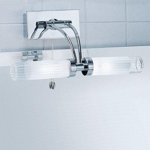 Bathroom Wall Light Chrome Wb536 | Bathroom mirror lights ...