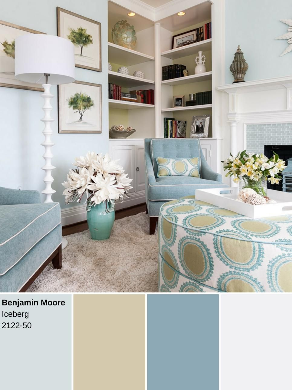 Is Blue A Calming Color 10 ways to decorate with powder blue | calming colors, design