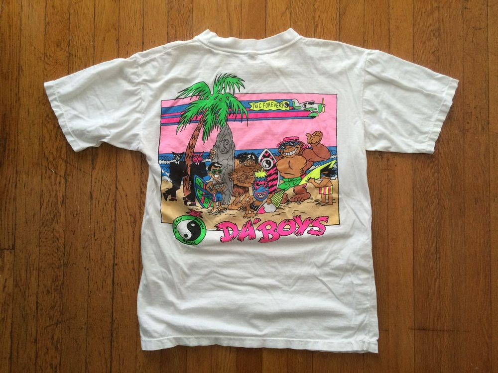 T C Surf Designs Da 39 Boys 80 39 S T Shirt Men 39 S S M White
