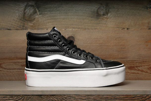 platform sneakers vans