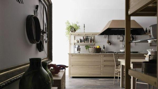Holz Küche gestalten \u2013 Komfort für die ganze Familie! #familie