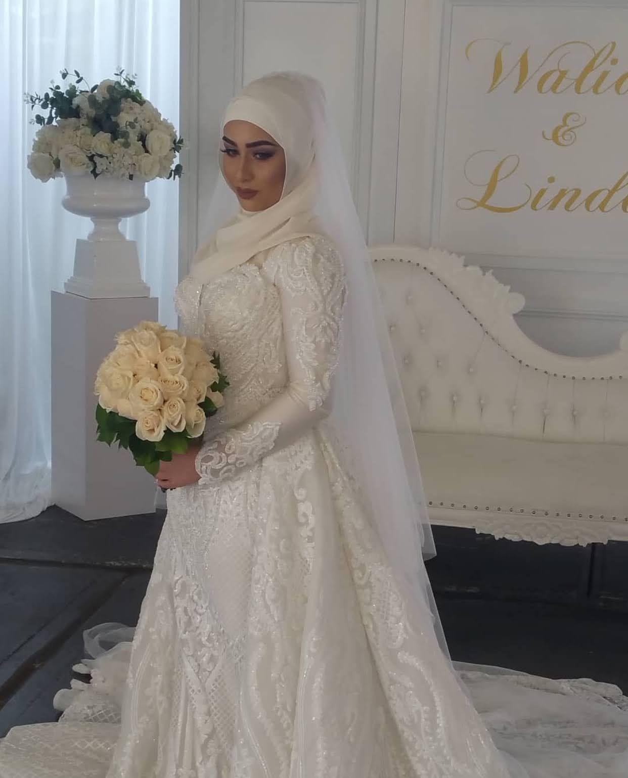 22 Ideas For Hijabi Wedding Dress Zahrah Rose Hijab Wedding Dresses Muslim Wedding Dresses Wedding Dresses [ 1539 x 1242 Pixel ]
