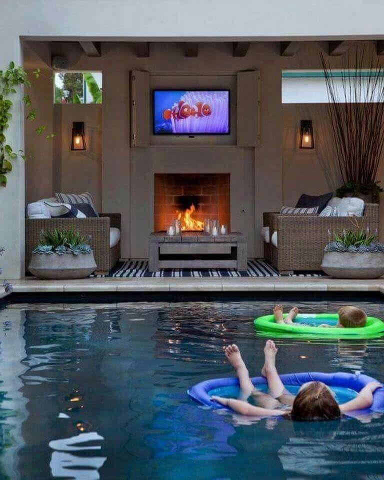 27 Backyard Pool House Pictures Swimming Pools Backyard Pool Patio Pool Houses