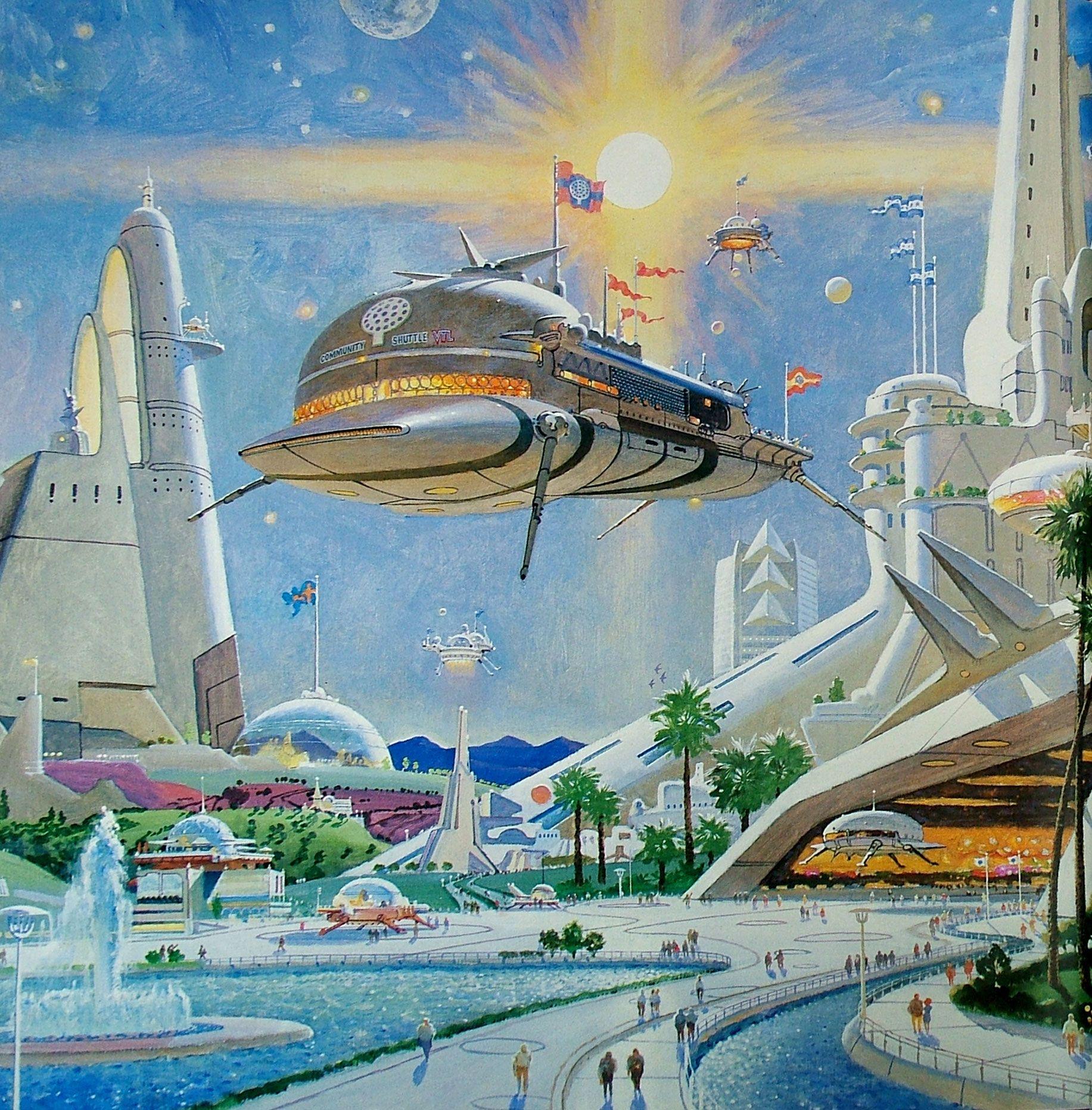 Картинки высокого разрешения будущее новый