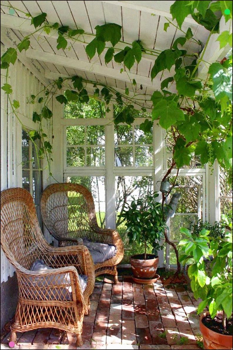 Latonya Yvette Porch Dreaming Greenhouse Interiors Patio Outdoor Spaces