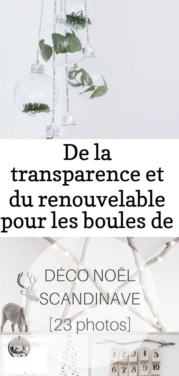 De la transparence et du renouvelable pour les boules de noël #déconoelfaitmain