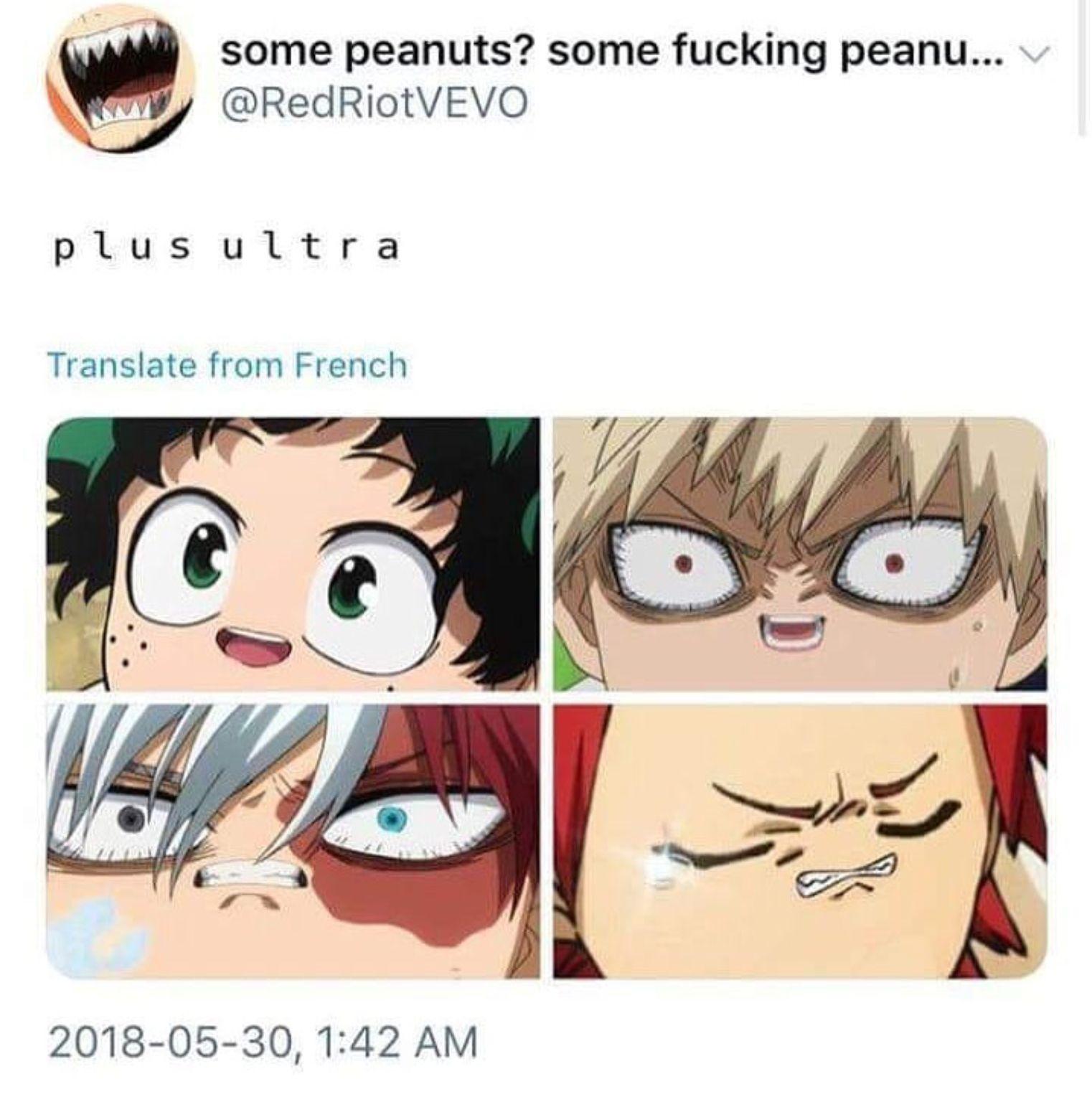 Can I just day Deku look fuckin adorable (as usual), Kiri looks like an egg, and...
